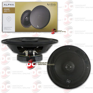 "INFINITY ALPHA6520 6.5"" 2-WAY CAR COAXIAL SPEAKERS"