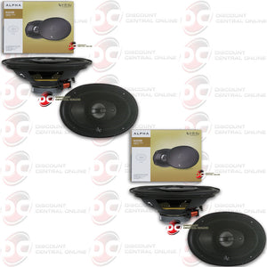 "INFINITY ALPHA6930 6x9"" 3-WAY CAR COAXIAL SPEAKERS (2 PAIRS)"