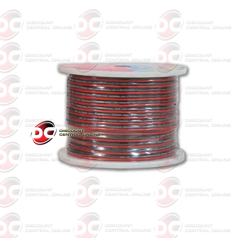 DNF 10 GAUGE 250 FT SPEAKER WIRE RED/BROWN