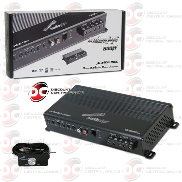 Audiopipe APMCR-1800 1-Channel Mono Block Car Amplifier