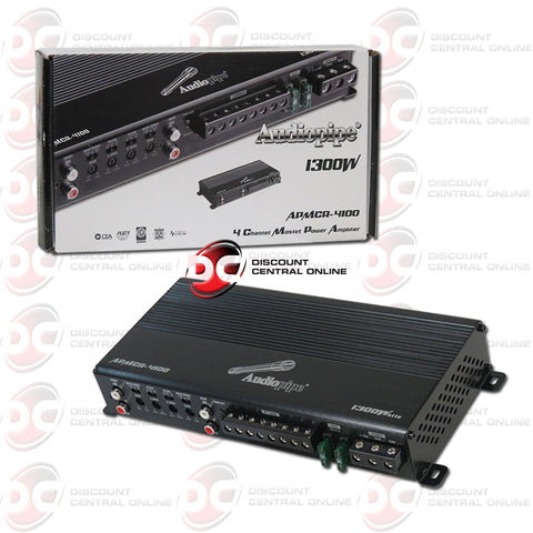 Audiopipe APMCR-4100 4-Channel Micro Car Audio Amplifier