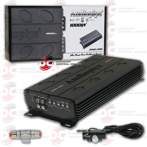 Audiopipe APMI-1300 Mini Series 1000w Class D Car Audio Amplifier
