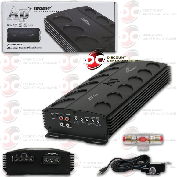 AUDIOPIPE APMN-1500 MONO BLOCK CAR AMPLIFIER
