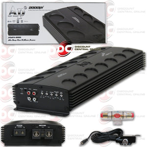 AUDIOPIPE APMN-2000 MONO BLOCK CAR AMPLIFIER
