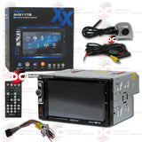"Axxera AV6117B 2-Din 6.2"" Car AM/FM/CD/DVD Receiver with Bluetooth (With Back-up Camera)"