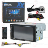 "Axxera AV6337MB 2Din 6.2"" Car DVD CD Receiver DualMirror with Bluetooth"
