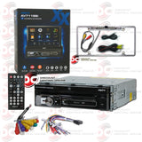 "Axxera AV7118Bi 1-Din 7"" Car CD/DVD With Bluetooth (with Back-up Camera)"