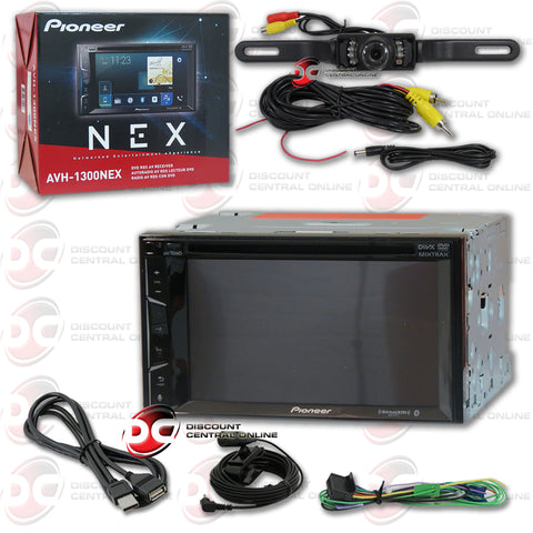 "Pioneer 2DIN AVH-1300NEX 6.2"" Car DVD CD Receiver Apple Carplay with Bluetooth (with Back-up Camera)"
