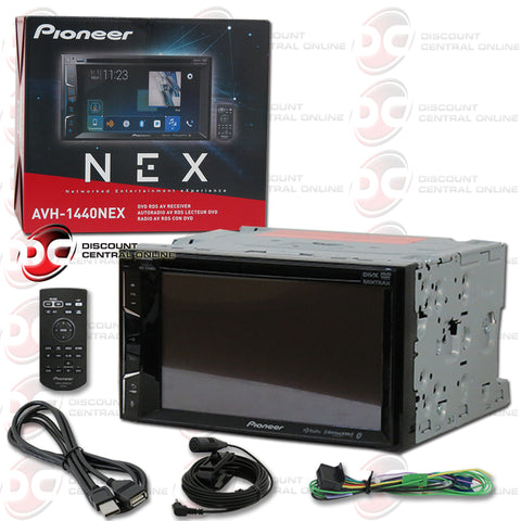 "Pioneer AVH-1440NEX 6.2"" 2-din Car AM/FM/CD/DVD Receiver With Bluetooth And Apple Carplay"