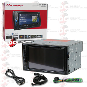 "Pioneer AVH-210EX 2-DIN 6.2"" CD DVD Car Stereo with Bluetooth"