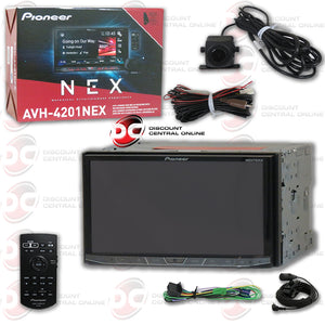 Pioneer Avh 4201nex 2 Din 7 Cd Dvd Apple Carplay Android Auto Car Stereo Bluetooth With Nd Bc8 Back Up Camera