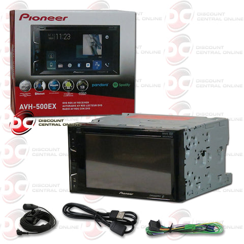 "Pioneer AVH-500EX 6.2"" Car CD/DVD/ Receiver with Bluetooth"