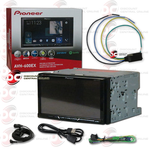 "Pioneer AVH-600EX 7"" Car CD/DVD/ Receiver with Bluetooth Plus Video Bypass"