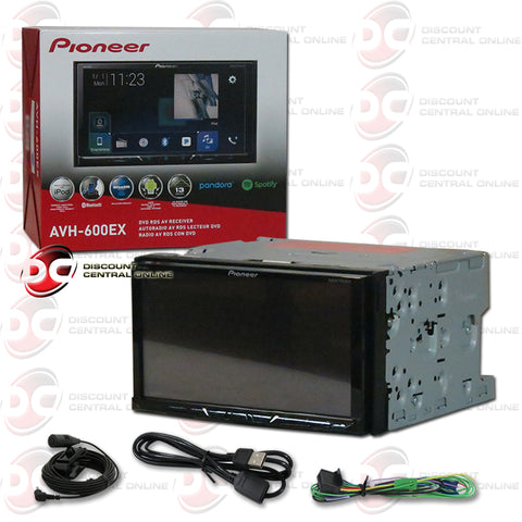 "Pioneer AVH-600EX 7"" Car CD/DVD/ Receiver with Bluetooth"