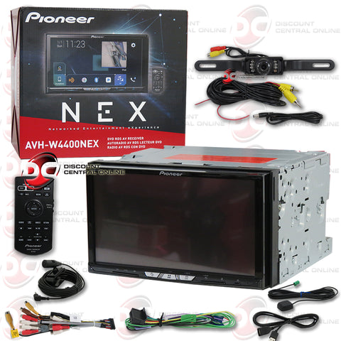 "Pioneer AVH-W4400NEX 7"" 2-Din Car CD/DVD Stereo With Bluetooth and Wifi (with Back-up Camera)"