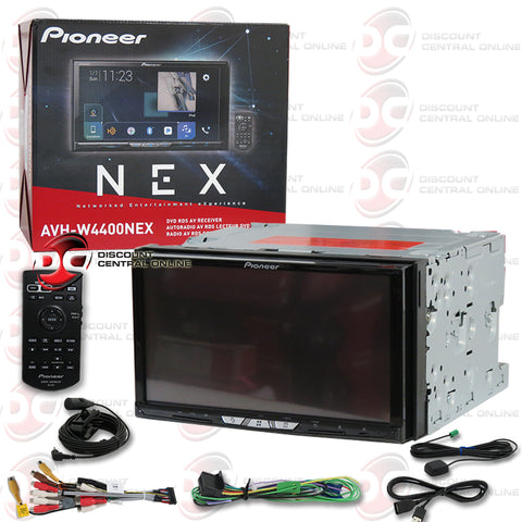 "Pioneer AVH-W4400NEX 7"" 2-Din Car CD/DVD Stereo With Bluetooth and Wifi"