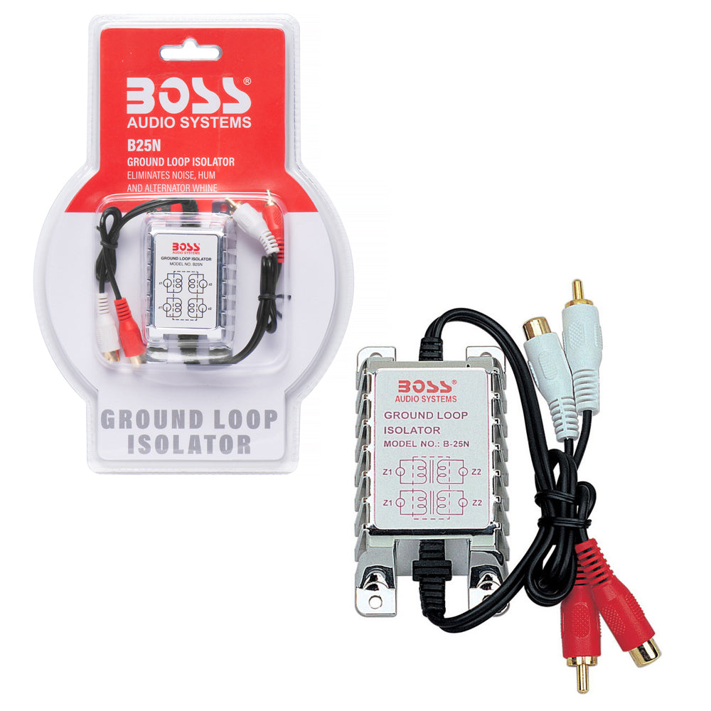 Boss B25N 2-Channel Ground Loop Noise Isolator Filter