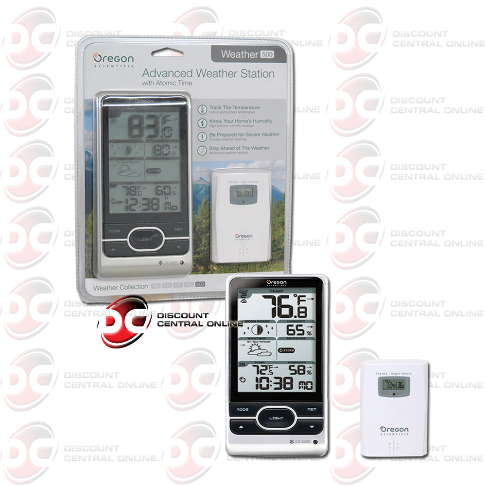 Oregon Scientific BAR208HGA Advanced Wireless Weather Station With Atomic Time