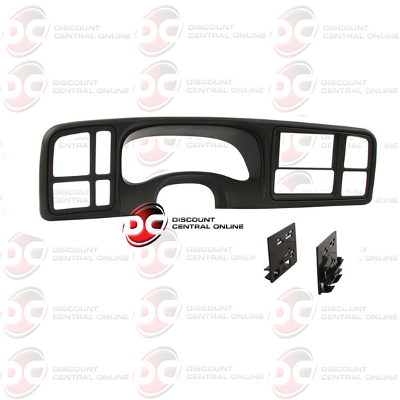 American International 2-Din Stereo Dash Kit For Select 99-02 GM Full Size Trucks