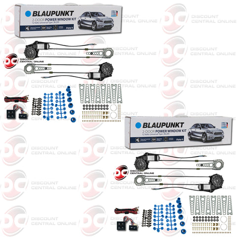 Blaupunkt BL205 2-In-Door Power Window Vehicle Kit (Pair)