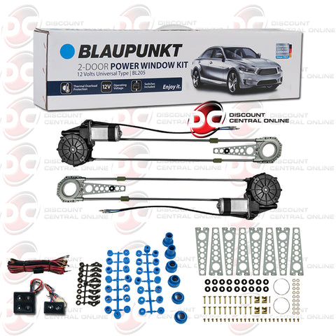 Blaupunkt BL205 2-In-Door Power Window Vehicle Kit