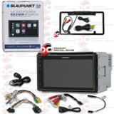 "BLAUPUNKT BP260PLAY 2-DIN 6.8"" CAR DIGITAL MEDIA RECEIVER WITH APPLE CARPLAY & ANDROID AUTO (WITH BACK-UP CAMERA)"