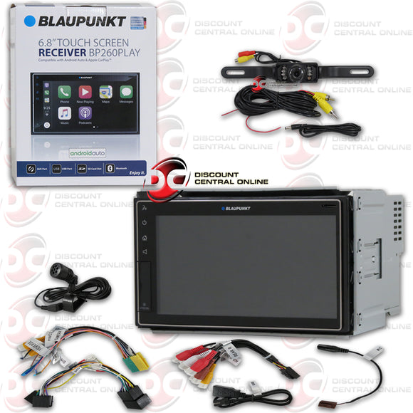 BLAUPUNKT BP260PLAY 2-DIN 6.8