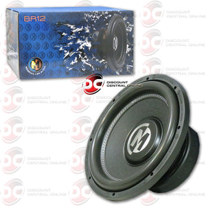 Memphis 15 Br12d4 12 Car Audio Subwoofer Bass Reference Series