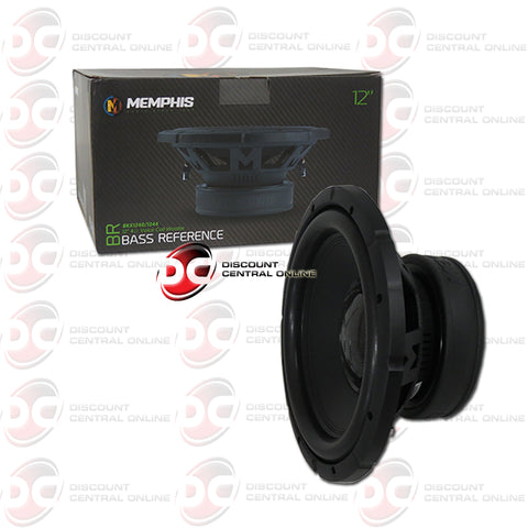 "Memphis BRX1240 12"" Single 4-Ohm Car Audio Subwoofer"
