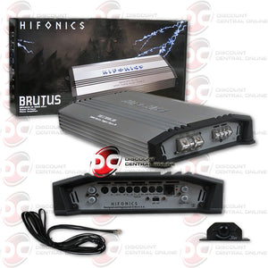 HIFONICS BRX3016.1D CAR AUDIO MONOBLOCK 1-CHANNEL CLASS D AMPLIFIER