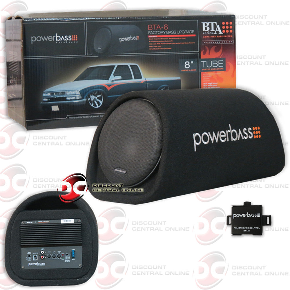 POWERBASS BTA-8 CAR AUDIO SINGLE 8
