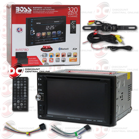 Boss Audio BV9371BD 2-Din 6.2