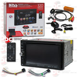 "Boss BV9371BD 2-Din 6.2""  Car CD/DVD/USB Receiver With Bluetooth (with Back-up Camera)"