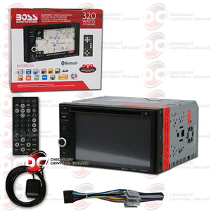 "Boss BV9382NV 2-Din 6.2"" Car CD/DVD/AM/FM/USB Receiver with Bluetooth"