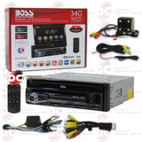 "Boss BV9976B 7"" 1-Din Car CD/DVD/USB Receiver With Bluetooth (With Back-up Camera)"