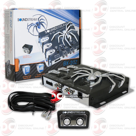 Soundstream BX-20z Car Epicenter Digital Bass Processor