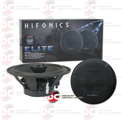"HIFONICS BZE65CX 6.5"" 2-WAY CAR AUDIO SPEAKERS"