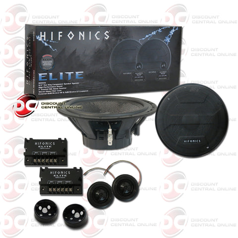 "HIFONICS BZE65C 6.5"" CAR AUDIO COMPONENT SPEAKER SYSTEM"