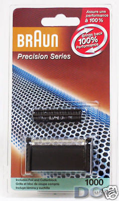 BRAUN 1000FC PRECISION SERIES REPLACEMENT FOIL & CUTTER