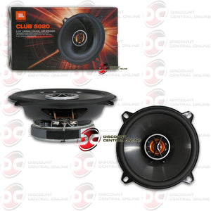 "JBL CLUB 5020 5.25"" 2-WAY CAR COAXIAL SPEAKERS"