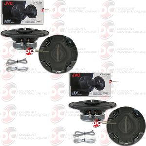 "JVC CS-HX639 6.5"" 3-WAY CAR COAXIAL SPEAKERS (2 PAIRS)"