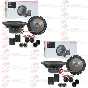 "2x JBL CS760C 6.5""Car 2-Way Component Speaker System"