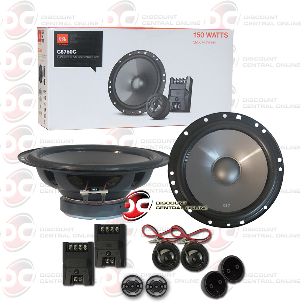 "JBL CS760C 6.5""Car 2-Way Component Speaker System"