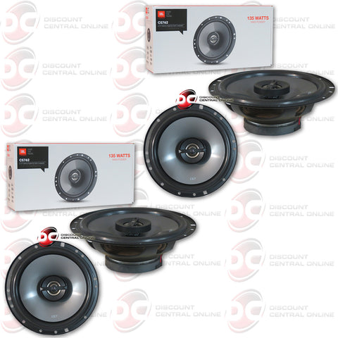 "4  x JBL CS762 6.5"" 2 WAY CAR COAXIAL SPEAKERS"