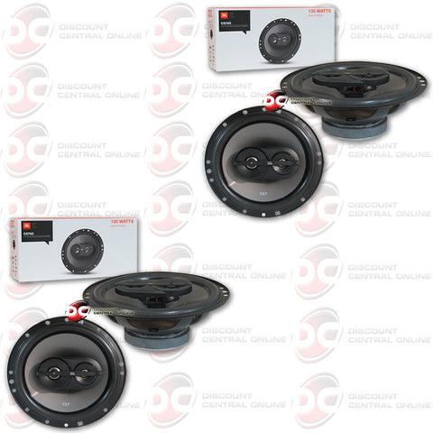"JBL CS763 6.5"" 3-way Car Audio Coaxial Speakers (2 Pairs)"