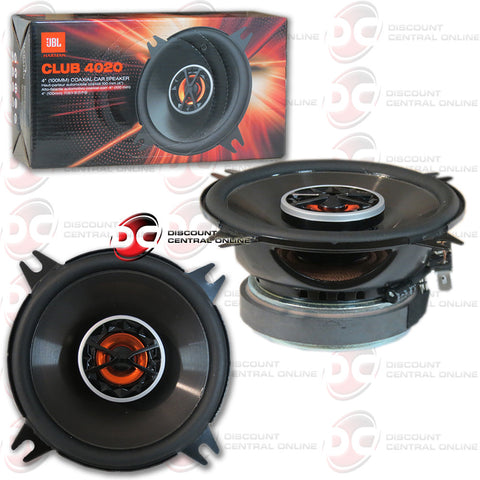 "JBL CLUB 4020 4"" 2-WAY CAR SPEAKERS"