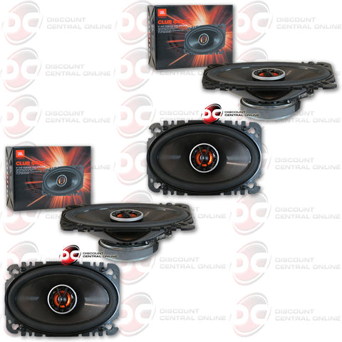"JBL Club 6420 4""x6"" 2-Way Car Speakers (2 Speakers)"