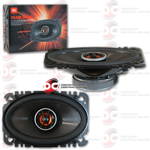 "JBL Club 6420 4""x6"" 2-way Car Speakers (Pair)"