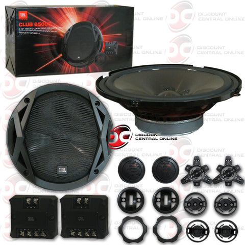 "JBL Club 6500C 6-1/2"" Component Speaker System (Pair)"