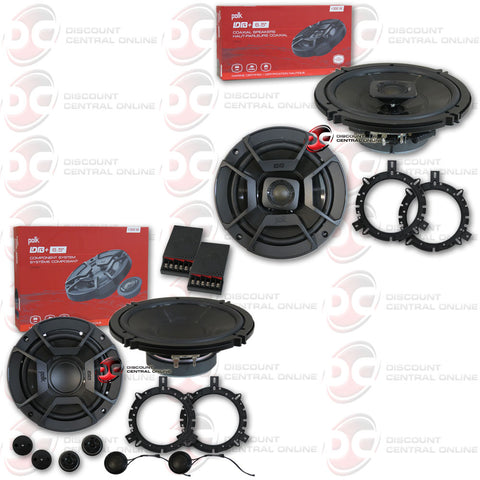 "Polk Audio MM6502 6.5"" 2-way Car Boat Ultra Marine Component Plus Coax Speakers"